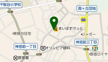 手打蕎麦 松永の地図画像