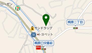粥茶屋 写楽の地図画像