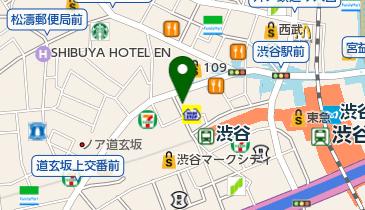 吉そば 渋谷店の地図画像