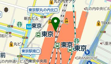 奈良 天平庵 エキュート東京店の地図画像