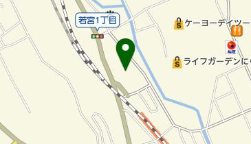 コーナーポケット 韮崎駅前MDK店の地図画像