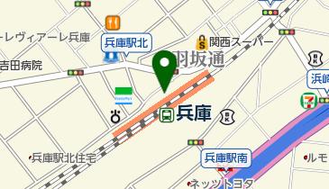 麺家兵庫の地図画像