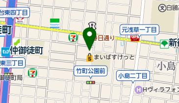 PizzaKing BAMBA-R 御徒町2号店の地図画像