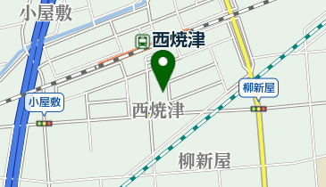 HIDE OUTの地図画像