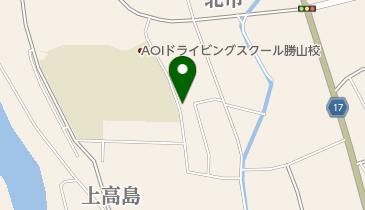 上高島blues bar Necoya ねこやの地図画像