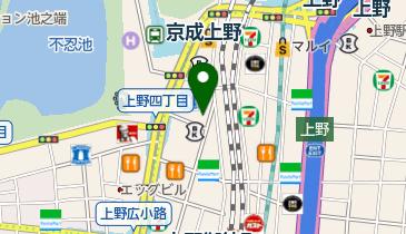上野500バルの地図画像