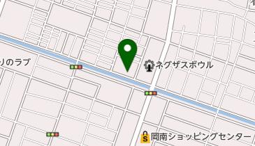 鮮魚五島の地図画像