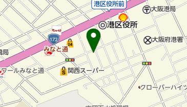 西村酒店の地図画像