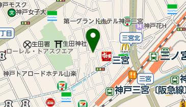 明石焼 司の地図画像