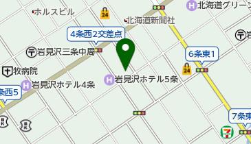 たこいちろう 岩見沢店の地図画像