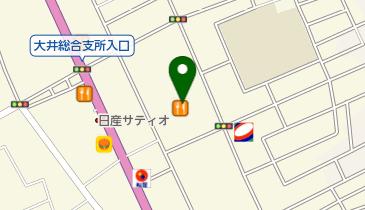 築地銀だこ イオン大井店の地図画像