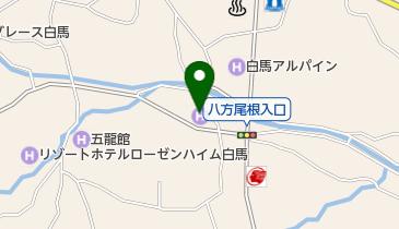 ハクバタップルームの地図画像
