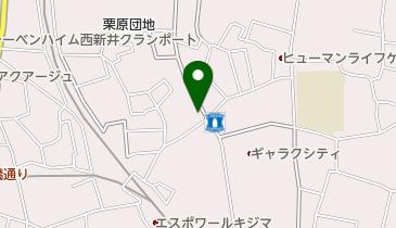 焼き肉家そらの地図画像