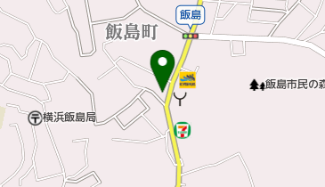 伝説のすた丼屋 横浜飯島町店の地図画像
