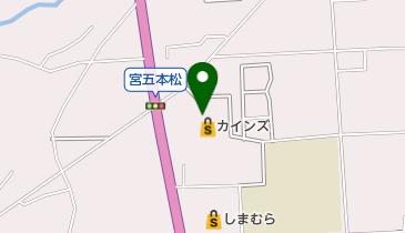 やきもの本舗 富士宮店の地図画像