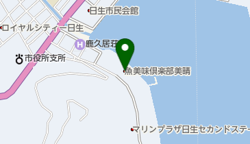 美晴旅館の地図画像