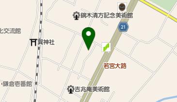 ライ麦ハウスベーカリーの地図画像