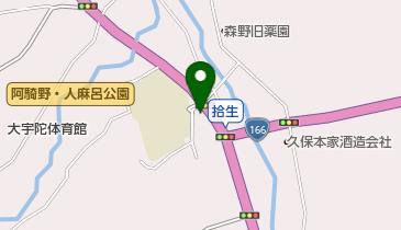 奥大和ビールの地図画像