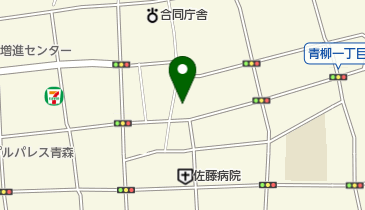 中華そば きた倉の地図画像