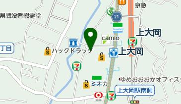 庄や 上大岡店の地図画像