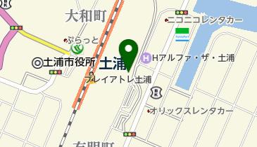 食楽BAL TAKEO 土浦店の地図画像