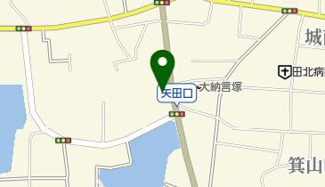 八剣伝 南郡山店の地図画像