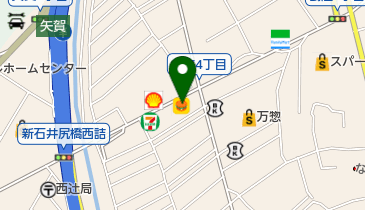 八剣伝 府中本町店の地図画像