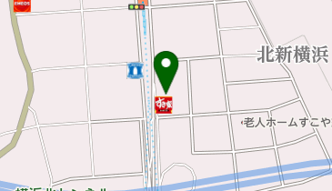 かっぱ寿司 北新横浜店の地図画像