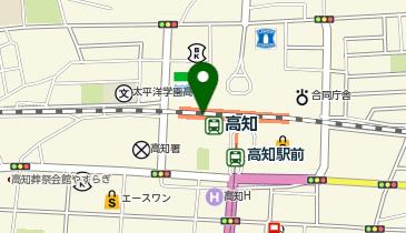 庄や JR高知駅店の地図画像