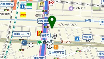 世界の山ちゃん 秋葉原昭和通り店の地図画像