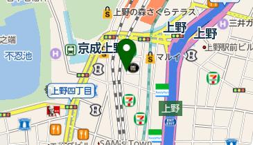 カラオケの鉄人 上野店の地図画像