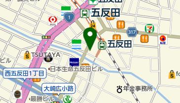 楽宴(らくえん)の地図画像