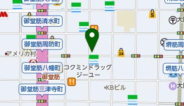 Bar Firstの地図画像