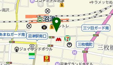 伊酒家ダイニング海人沼津駅前店の地図画像