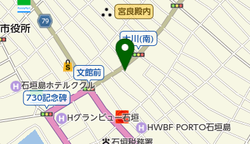 優雅亭 盛山 石垣店の地図画像