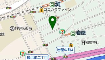 ナマステ ガネーシャマハル 灘店の地図画像