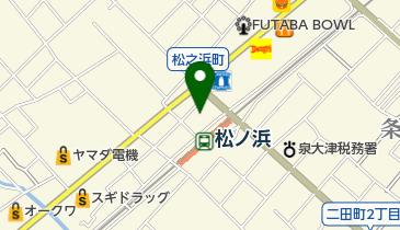 酒場ダイニングしんの地図画像