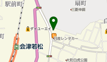 カルビ大将 会津若松駅前店の地図画像