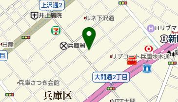 ダイニングfufufu-歩歩歩-の地図画像