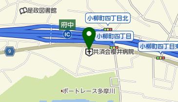 共済会櫻井病院の地図画像