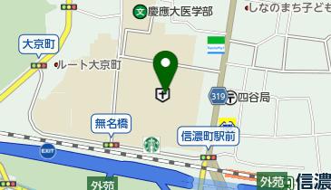 慶應義塾大学病院の地図画像
