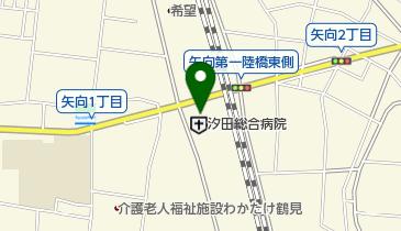 汐田総合病院の地図画像
