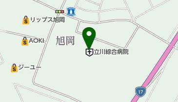 立川綜合病院の地図画像