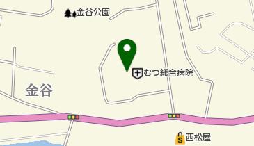 むつ総合病院の地図画像