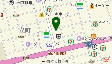 東北公済病院の地図画像