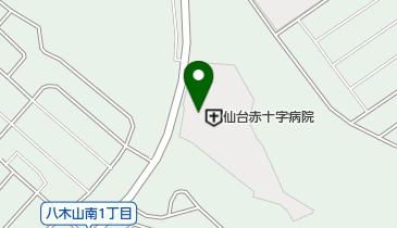 仙台赤十字病院の地図画像