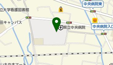 山梨県立中央病院の地図画像