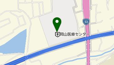国立病院機構 岡山医療センターの地図画像