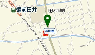 中谷外科病院の地図画像