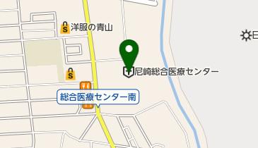 兵庫県立尼崎総合医療センターの地図画像
